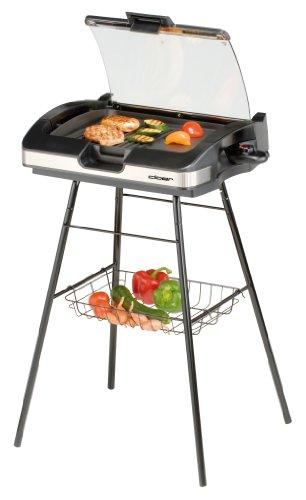 kleiner barbecue grill elektro mit standfuss und. Black Bedroom Furniture Sets. Home Design Ideas
