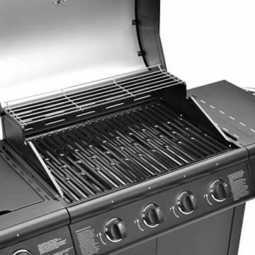 bbq grillwagen 4 edelstahl brenner gas grill grill. Black Bedroom Furniture Sets. Home Design Ideas