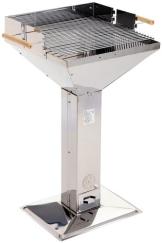 Grillchef BBQ 11282 Trichtergrill Inox - 1