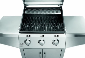 Jamie Oliver Gasgrill Home Test : Profi cook gasgrill 3 brenner test grill testbericht