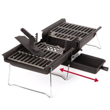 Camping Grill Son of Hibachi Holzkohlegrill