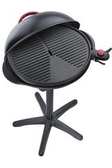 Steba VG 300 elektrischer Barbecue-Hauben-Grill, schwarz / rot - 1