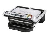Tefal GC702D Optigrill, 2000 W, (automatische Anzeige des Garzustandes, 6 voreingestellte Grillprogramme, Edelstahl) schwarz/silber - 1