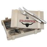 WMF 1280239990 Steakbesteck 12-teilig in Holzkiste - 1