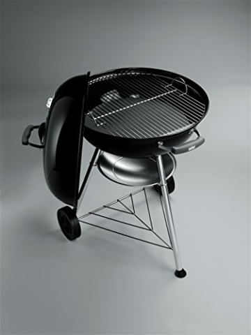 test weber compact kettle holzkohle kugelgrill 57 cm. Black Bedroom Furniture Sets. Home Design Ideas